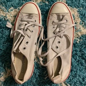 Red, white, blue converse